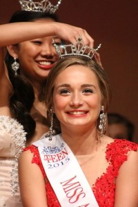 Colleen Issel was crowned Miss Auburn/Midland Outstanding Teen September 27, 2014