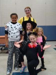 halloween christine group