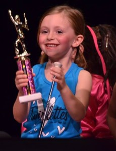 Rookie celebrates first recital!