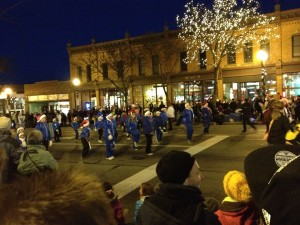 Twirlettes Holiday Parade~December 2013