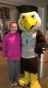 jo and eagle